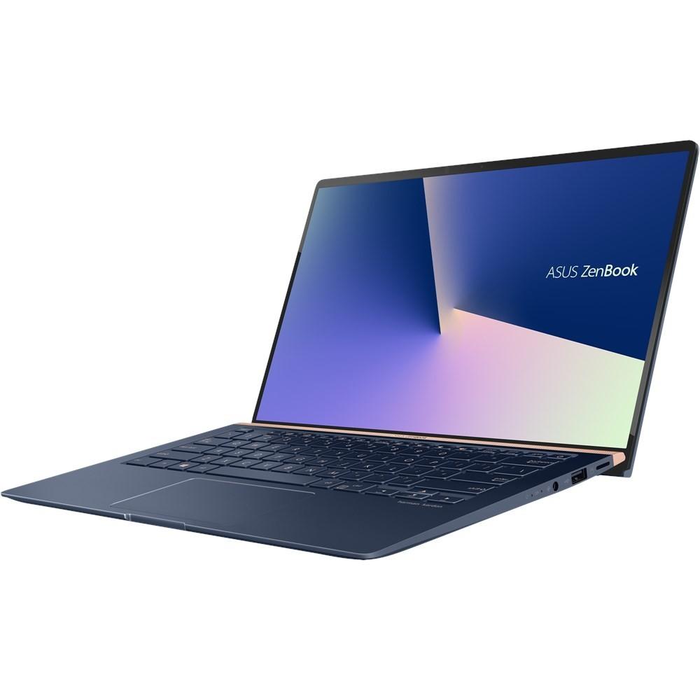 """ASUS ZenBook UX433FN-A6023T Blu Computer portatile 35,6 cm (14"""") 1920 x 1080 Pixel 1,8 GHz Intel® Core™ i7 di ottava generazione i7-8565U cod. 90NB0JQ2-M00670"""