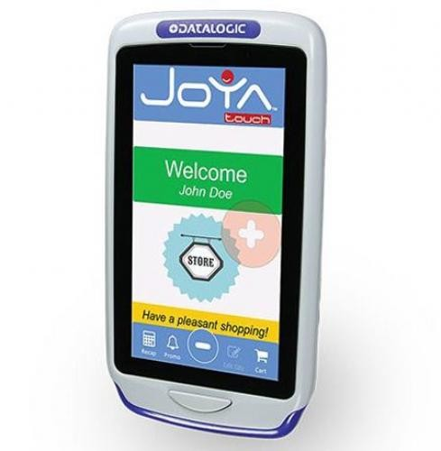 "Datalogic Joya Touch Plus computer palmare 10,9 cm (4.3"") 854 x 480 Pixel Touch screen 275 g Blu, Grigio cod. 911350010"
