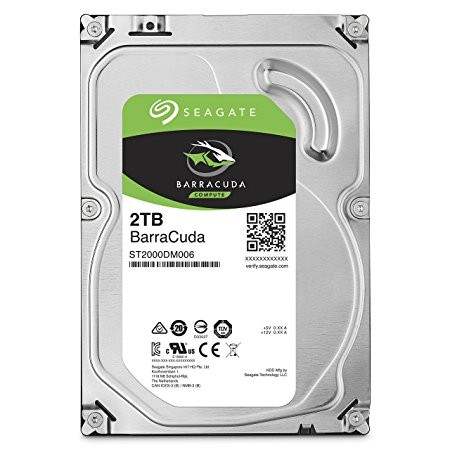 Seagate HARD DISK SATA3 3.5 2000GB(2TB) SEAGATE ST2000DM006 BARRACUDA 7200rpm Cache 64MB - ST2000DM006-HDD