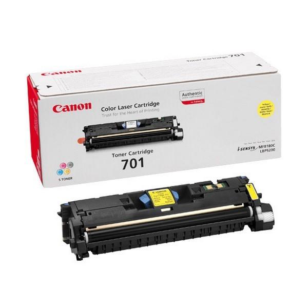 Canon 701 Original Giallo 1 pezzo(i) cod. 9284A003
