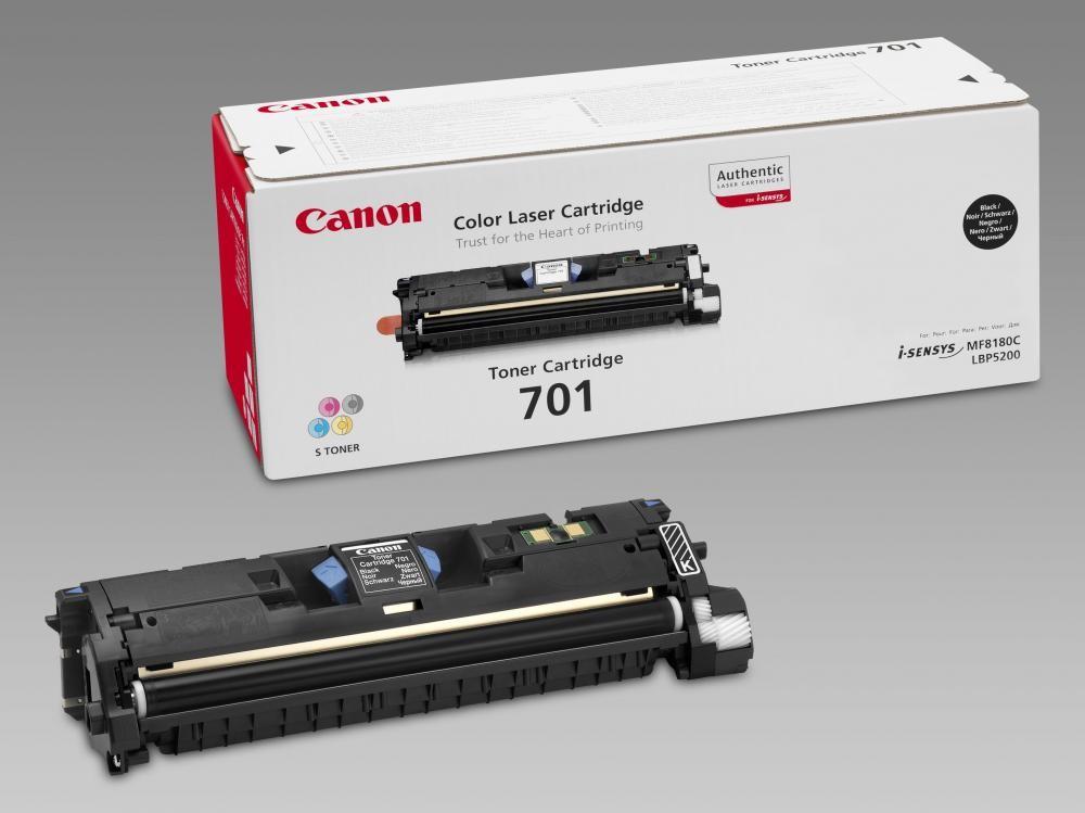 Canon 701 Original Nero 1 pezzo(i) cod. 9287A003