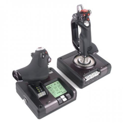 Logitech X52 Pro Flight Control System Simulazione di Volo cod. 945-000003