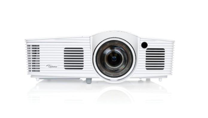 Optoma EH200ST videoproiettore 3000 ANSI lumen DLP 1080p (1920x1080) Compatibilità 3D Proiettore portatile Bianco cod. 95.8ZF01GC0E.LR