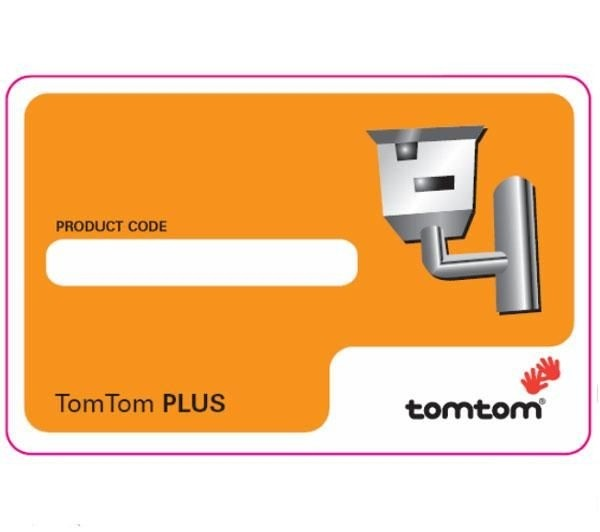 TomTom Safety Camera Scrath Card cod. 9G00.000