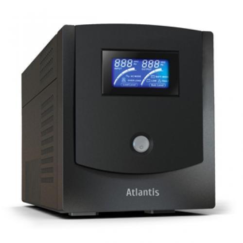 Atlantis Land HostPower 1502 1500VA 4AC PLUG(s) Compact Black uninterruptible power supply (UPS) cod. A03-HP1502