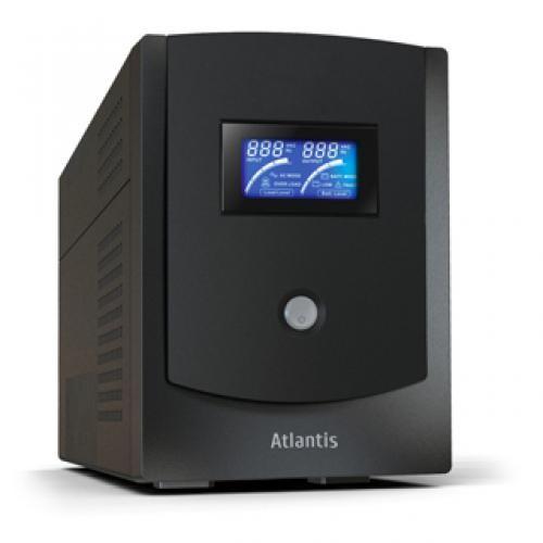 Atlantis Land HostPower 2202 2200VA 6AC PLUG(s) Compact Black uninterruptible power supply (UPS) cod. A03-HP2202