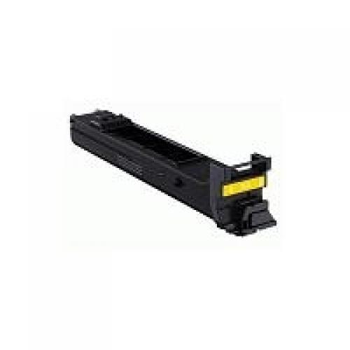 Konica Minolta A0DK251 4000pages yellow laser toner & cartridge cod. A0DK251