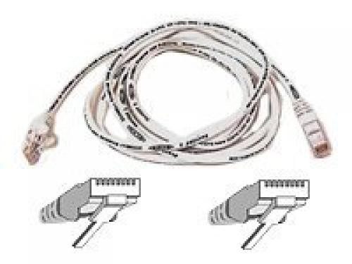 Belkin High Performance - Patch cable 5m UTP ( CAT 6 ) - white cavo di rete Bianco cod. A3L980B05M-WHTS