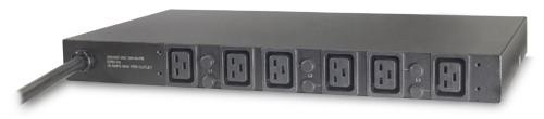 APC Basic Rack PDU AP7526 unità di distribuzione dell'energia (PDU) 1U Nero 6 presa(e) AC cod. AP7526