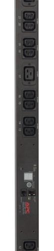 APC Metered Rack PDU unità di distribuzione dell'energia (PDU) 0U Nero cod. AP7851