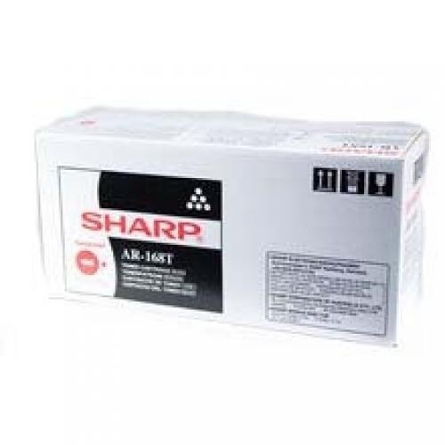 Sharp Laser Toner Cartridge Black AR5415, AR153E, ARM155, AR122E, AR153, AR5012, ARM150 Original Nero cod. AR168T