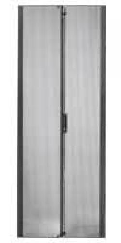 APC NetShelter SX 48U 600mm Wide Perforated Split Doors Black cod. AR7107