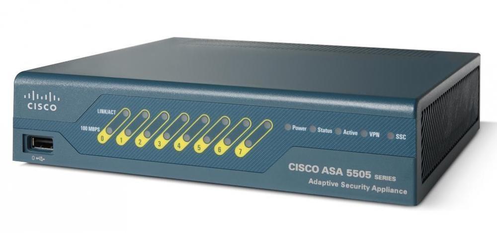 Cisco ASA 5505 firewall (hardware) 150 Mbit/s 1U cod. ASA5505-K8