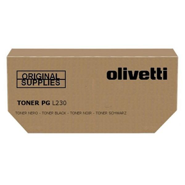 Olivetti B0708 cartuccia toner Original Nero 1 pezzo(i) cod. B0708