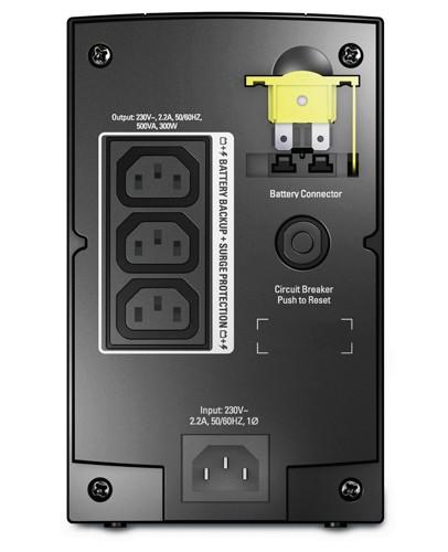 APC Back-UPS A linea interattiva 0,5 kVA 300 W 3 presa(e) AC cod. BX500CI