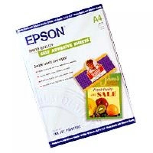 Epson Self-Adhesive Photo Paper - A4 - 10 Fogli cod. C13S041106