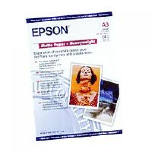 """Epson Carta speciale opaca """"matte"""" alto spessore cod. C13S041261"""
