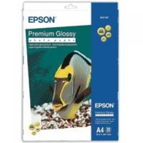 Epson Premium Glossy Photo Paper - A4 - 20 Fogli cod. C13S041287
