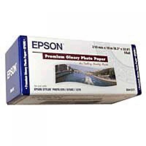 Epson Carta fotografica lucida Premium in rotoli da 210mm x 10m cod. C13S041377
