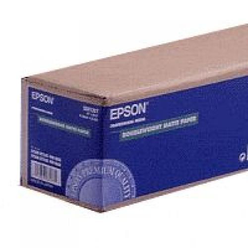 "Epson 44""x25M Doubleweight Matte Paper - C13S041387"
