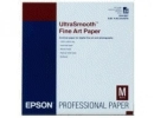 "Epson UltraSmooth Fine Art Paper(325), fogli A3+ (13x19"") cod. C13S041896"