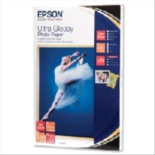 Epson Ultra Glossy Photo Paper - 10x15cm - 20 Fogli cod. C13S041926