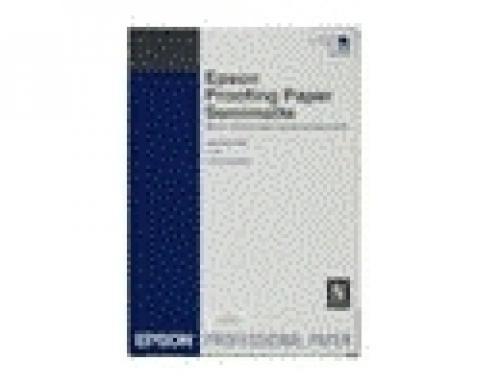 """Epson Proofing Paper White Semimatte, in rotoli da 43, 18 cm x 30, 48 m (17"""" x 100'). cod. C13S042003"""