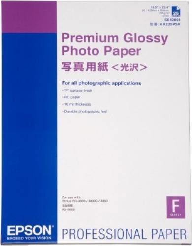 Epson Premium Glossy Photo Paper carta fotografica cod. C13S042091