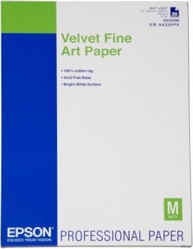 Epson Velvet Fine Art Paper cod. C13S042096