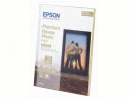 Epson Premium Glossy Photo Paper - 13x18cm - 30 Fogli cod. C13S042154