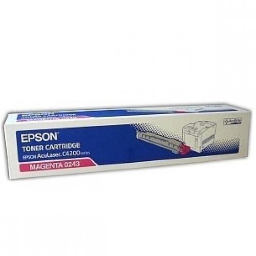 Epson Magenta Toner for AcuLaser C4200 - C13S050243