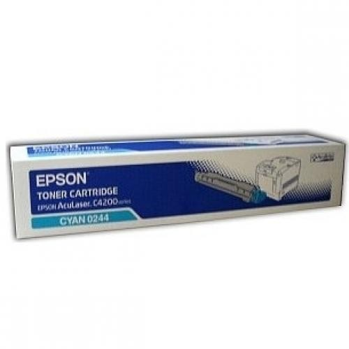 Epson Cyan Toner for AcuLaser C4200 - C13S050244