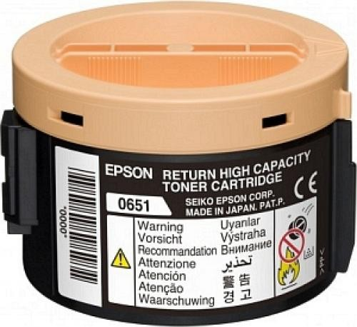 Epson Return-Toner Nero cod. C13S050651