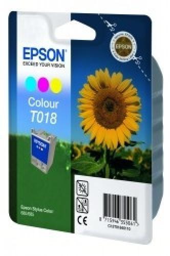 Epson T018 Ink Cartridge Three Colour - C13T01840110