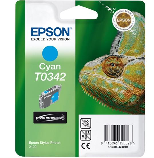 Epson Chameleon Cartuccia Ciano cod. C13T03424010