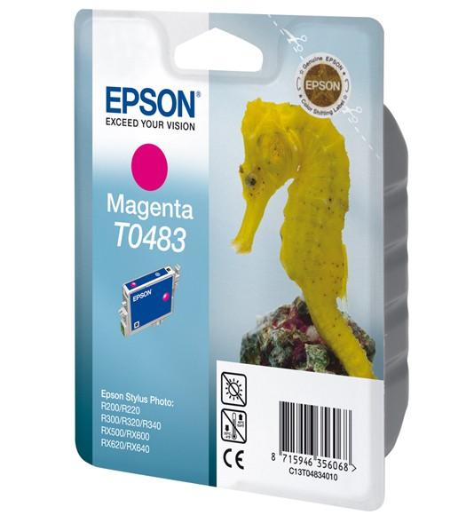 Epson T0483 Magenta Ink Cartridge (Seahorse) - C13T04834010