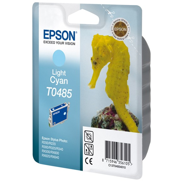 Epson Seahorse Cartuccia Ciano Chiaro cod. C13T04854010