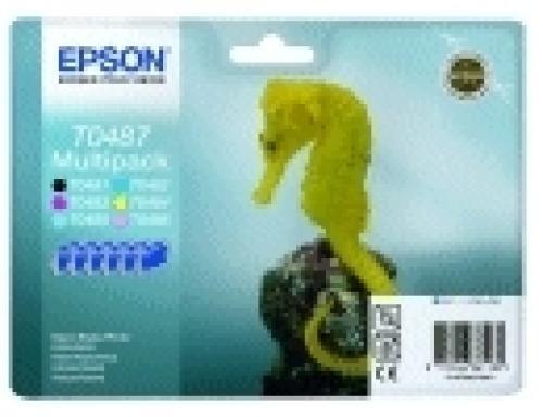 Epson Seahorse Multipack 6 colori cod. C13T04874020