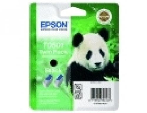 Epson Ink Cartridge Black T0501(Twin Pack) - C13T05014210