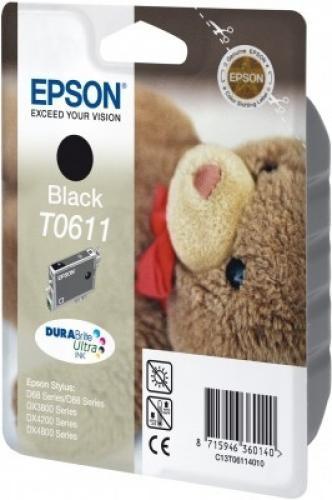 Epson Cartuccia Nero cod. C13T06114010