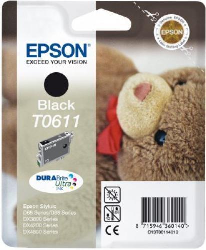 Epson Teddybear Cartuccia Nero cod. C13T06114020