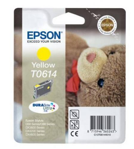 Epson Teddybear Cartuccia Giallo cod. C13T06144020
