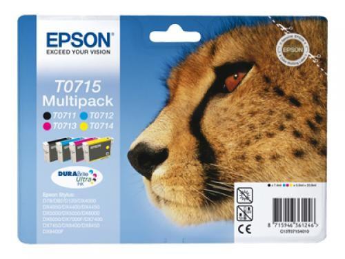 Epson Cheetah Multipack t071 cod. C13T07154020