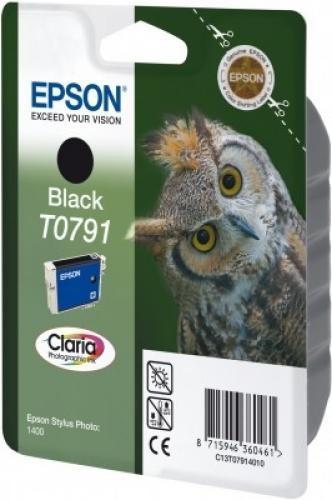 Epson Claria Ink Cartridge Black T0791 - C13T07914020