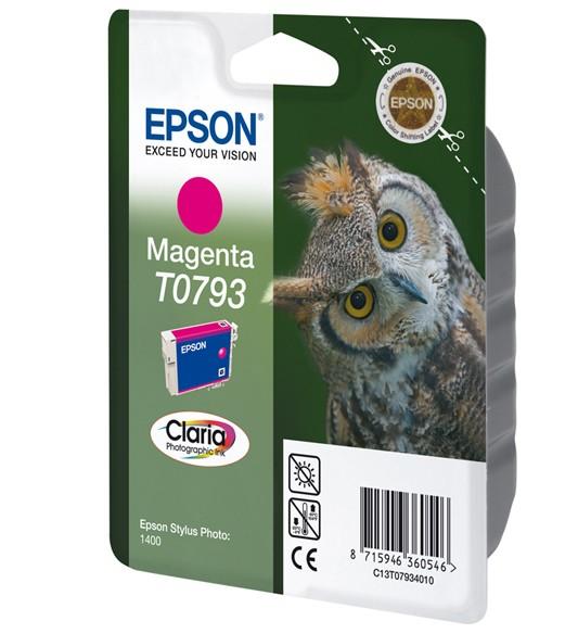 Epson Owl Cartuccia Magenta cod. C13T07934010