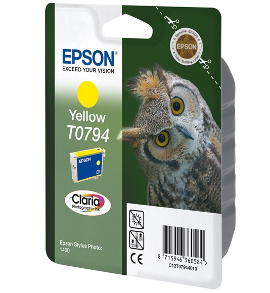 Epson Owl Cartuccia Giallo cod. C13T07944010