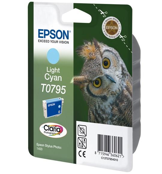 Epson Owl Cartuccia Ciano Chiaro cod. C13T07954010