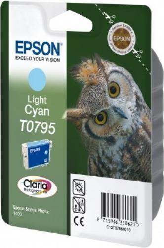 Epson Claria Ink Cartridge Light Cyan T0795 - C13T07954020