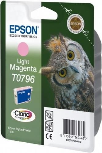 Epson Claria Ink Cartridge Light Magenta T0796 - C13T07964020