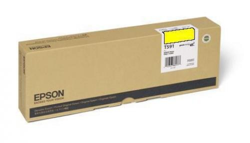 Epson Ink Cart Yellow, 700ml, for Stylus Pro 11880 - C13T591400